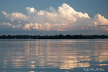 Staats_Clouds & water Bald Eagle Lake 50600