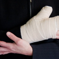 After thumb surgery