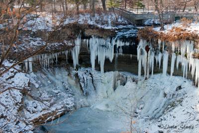 Minnehaha Creek Winter