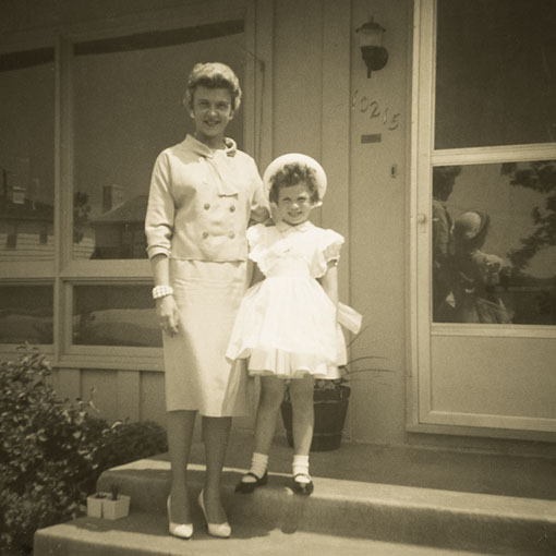 Mom and me 1960_Staats