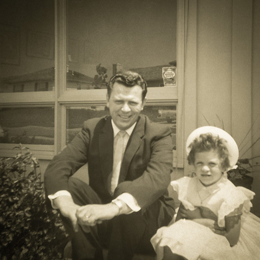 Dad & me 1960_Staats