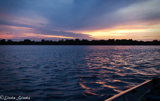 Sunset over Peltier Lake_Staats