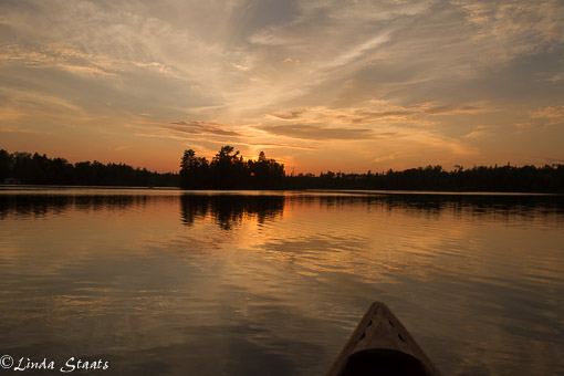 Burns Lake sunset_Staats