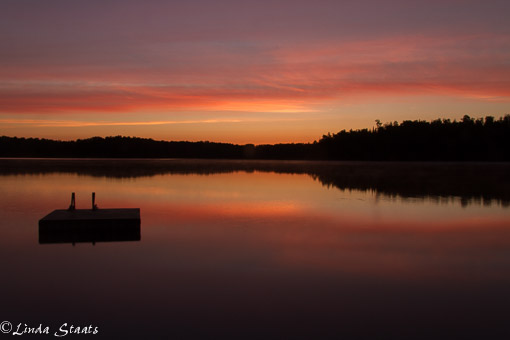 Dawn over Jack the Horse Lake_Staats