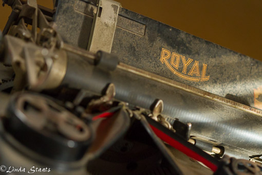 Royal typewriter 8061_Staats