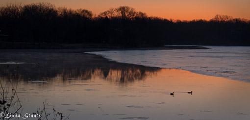 Spring dawn over Lake Johanna 9247_Staats