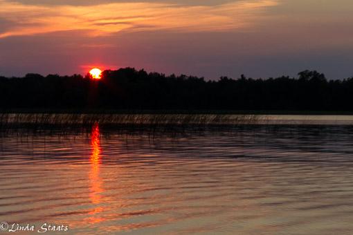 Sunset over Spirit Lake_10335 Staats