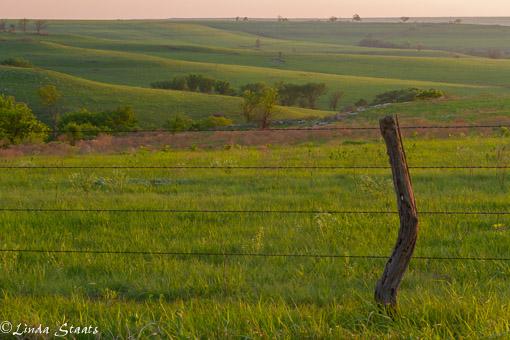 KS Flint Hills at sunset_Staats 13167